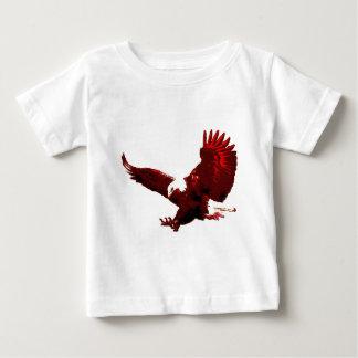 Landing Eagle - Eagle in Flight Baby T-Shirt