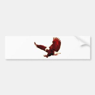 Landing Eagle - Eagle in Flight Bumper Sticker