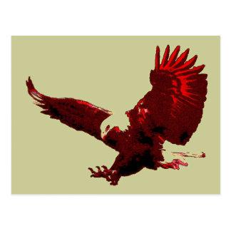 Landing Eagle - Eagle in Flight Postcards