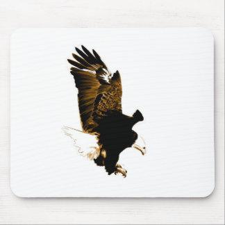 Landing Eagle Mouse Pad