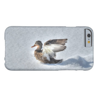 Landing Female Mallard Duck Wildlife Photo Barely There iPhone 6 Case