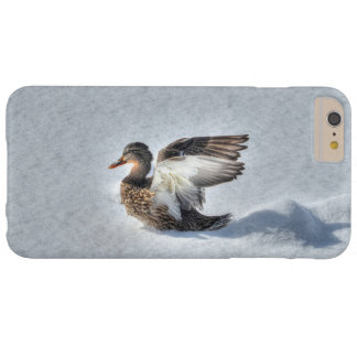 Landing Female Mallard Duck Wildlife Photo Barely There iPhone 6 Plus Case