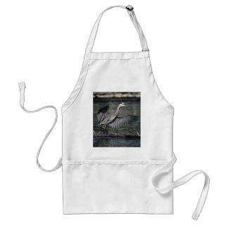 Landing Great Blue Heron Wildlife Bird Photo 3 Adult Apron