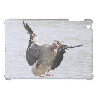 Landing Greylag Goose Case For The iPad Mini