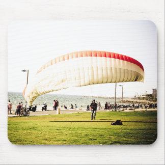 Landing in Tel Aviv Mouse Pad