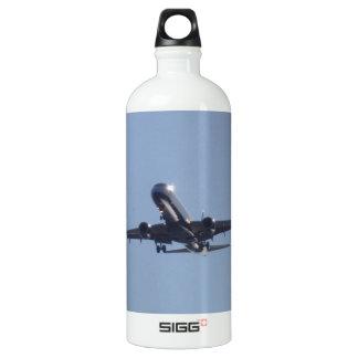Landing Into The Sun Water Bottle