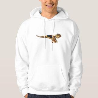 Landing Male Mallard Duck Wildlife Hoodie