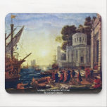 Landing Of Cleopatra At Tarsus By Lorrain Claude Mousepads