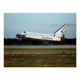 Landing of Space Shuttle Atlantis STS-79 Posters