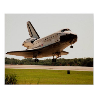 Landing of Space Shuttle Discovery (STS-95) Posters