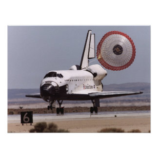 Landing of Space Shuttle Endeavour (STS-111) Posters