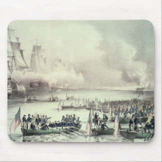 Landing of the American Force at Vera Cruz Mouse Pads
