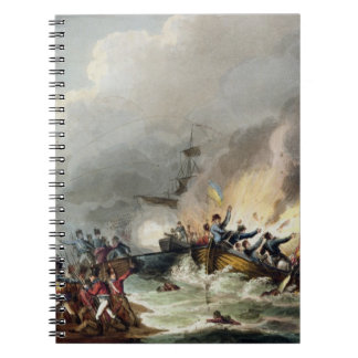 Landing of the British Troops in Egypt, March 1801 Note Book