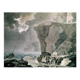 Landing of the Conspirators Postcard