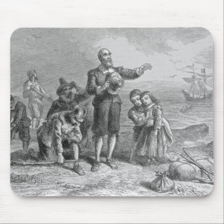 Landing of the Pilgrims, 1620 Mouse Pad