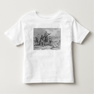 Landing of the Pilgrims, 1620 Toddler T-shirt