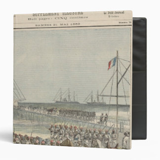 Landing of the Senegalese Troops at the New Wharf Binder