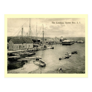 Landing, Oyster Bay, Long Island NY Vintage Postcard
