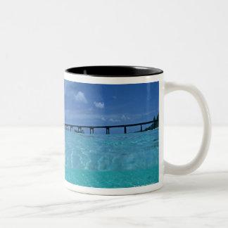 Landing Pier 3 Two-Tone Coffee Mug