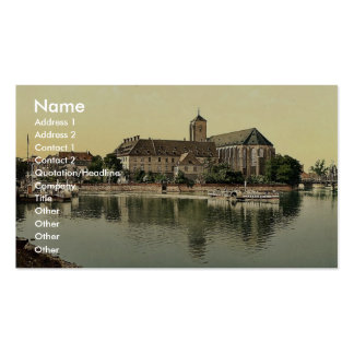 Landing place, Sand Church, Breslau, Silesia, Germ Double-Sided Standard Business Cards (Pack Of 100)