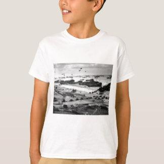 Landing Ships Putting Cargo Ashore on Omaha Beach T-Shirt