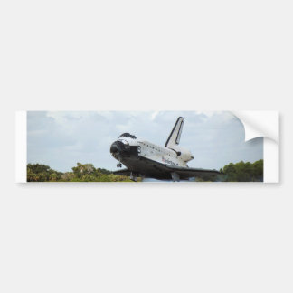 Landing Space Shuttle Bumper Sticker
