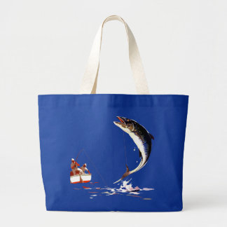 Landing The Big One Tote Bag