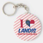 Landis, Carolina del Norte Llavero Personalizado