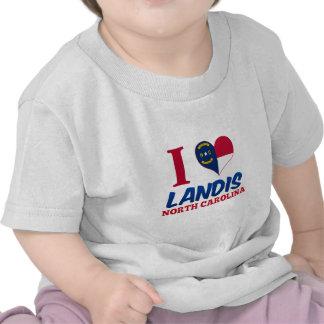 Landis, Carolina del Norte Camiseta