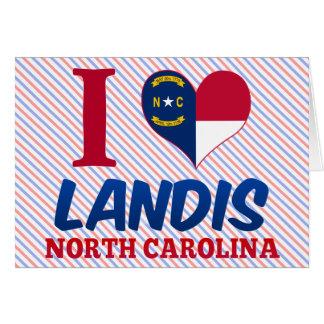 Landis, Carolina del Norte Tarjeta