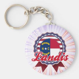 Landis, NC Keychain