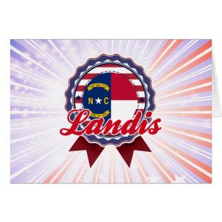 Landis, NC Tarjeta
