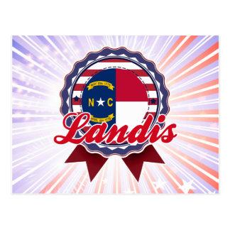 Landis, NC Postales
