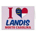 Landis, North Carolina Greeting Card
