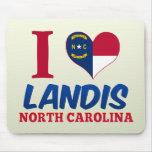 Landis, North Carolina Mousepad