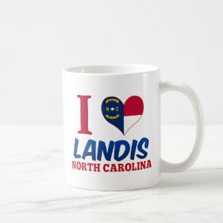 Landis, North Carolina Classic White Coffee Mug