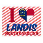 Landis, North Carolina Postcard