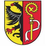 Landkreis Biberach Wappen Acrylausschnitt