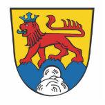 Landkreis Calw Wappen Fotostatue