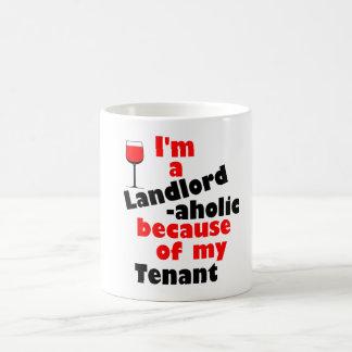 Landlord -aholic Mug for Stressed-Out Landlords