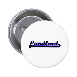 Landlord Classic Job Design 2 Inch Round Button