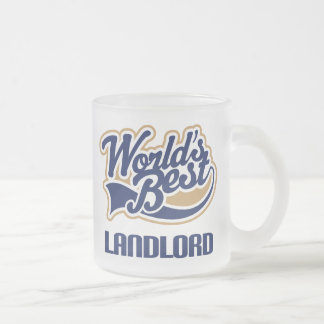 Landlord Gift Frosted Glass Coffee Mug