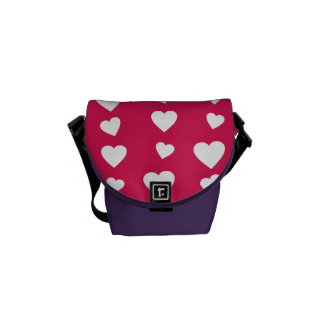 Landlord Hearts of the day of the love of San Vale Messenger Bags