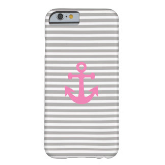 landlord nautical with pink anchor barely there iPhone 6 case