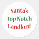 Landlord Top Notch Classic Round Sticker