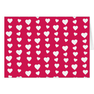 Landlord white Hearts of the day of San Valentin Greeting Cards
