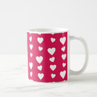 Landlord white Hearts of the day of San Valentin Coffee Mug
