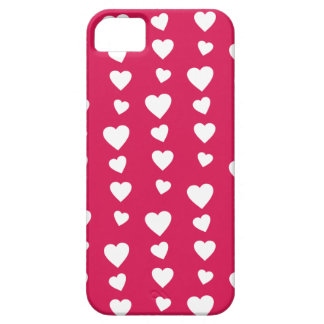 Landlord white Hearts of the day of San Valentin iPhone SE/5/5s Case