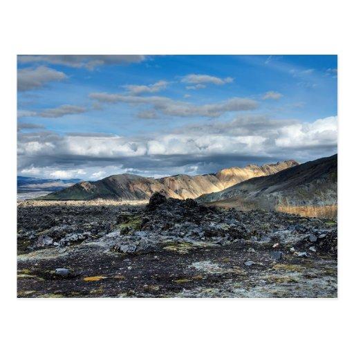 Landmannalaugar #1 tarjeta postal