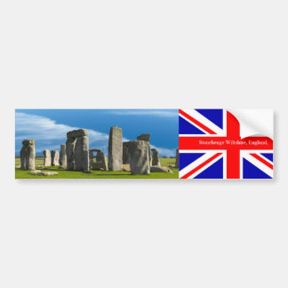 Landmark image of England for Bumper-Sticker Bumper Sticker